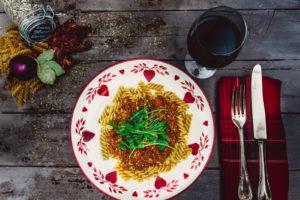 Vegane Bolognese ohne Tofu