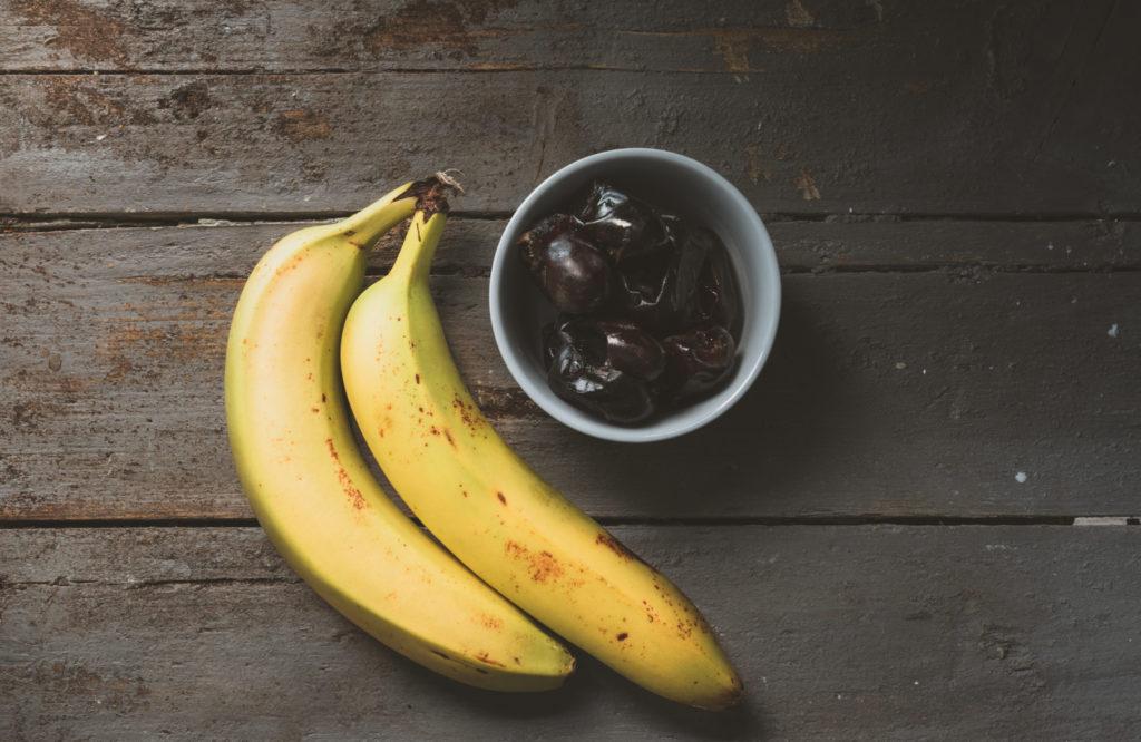 Bananen Datteln Zuckerersatz