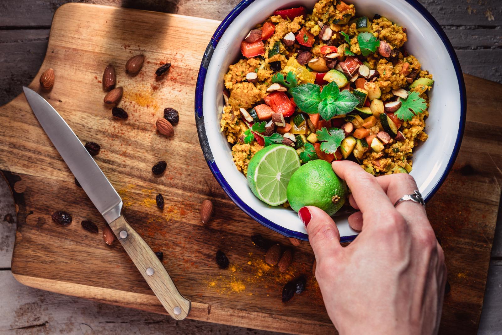 Indischer Couscous Salat Rheinbiologischde