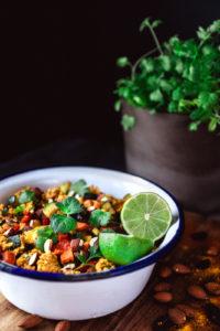 indischer Couscous-Salat