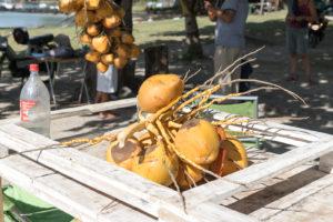 Gesund Essen im Urlaub - Kokosnüsse