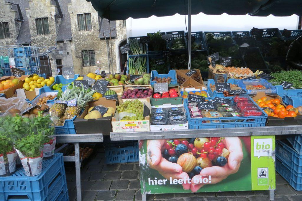 Der Wochenmarkt in Gent