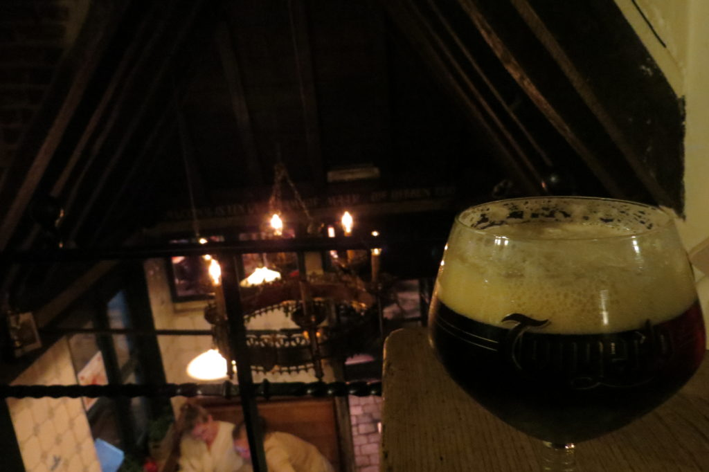 """Das Bier in Gent ist """"een lekker hapje"""""""